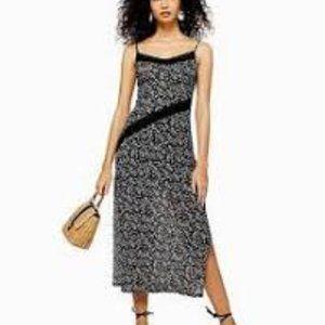 NWT Topshop floral midi dress